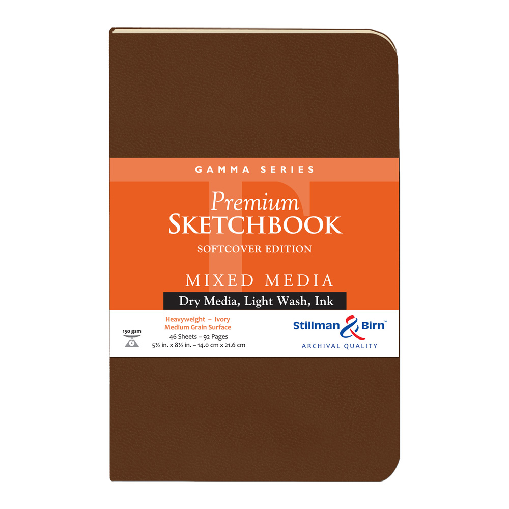 Gamma Softcover Sketchbook 5.5X8.5