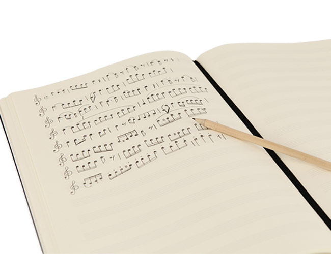 Leuchtturm Slim Master Hardcover Music Book