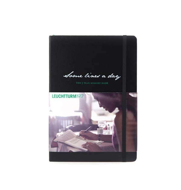 Leuchtturm Some Lines 5 Year Memory Book