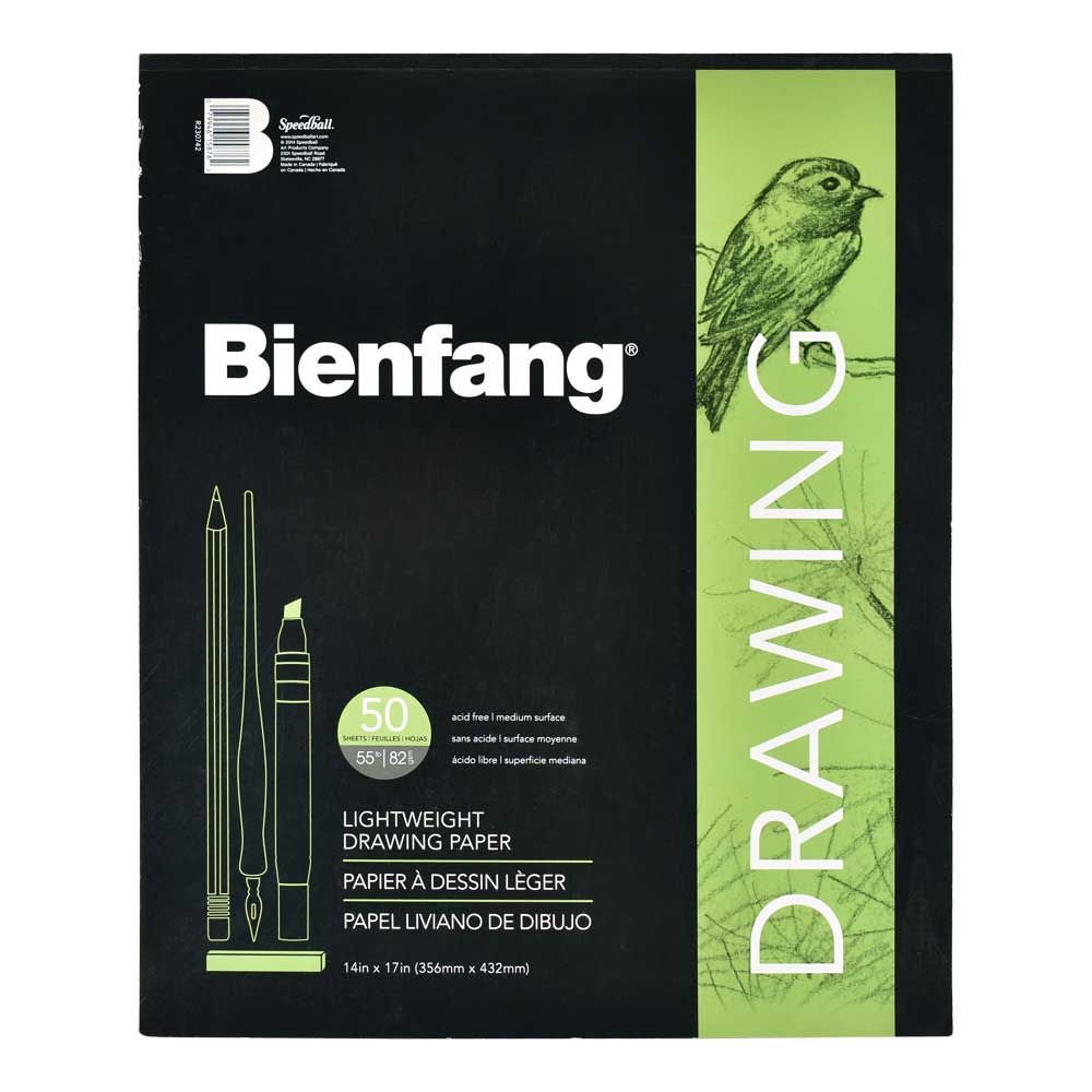 Bienfang Giant Drawing Pad 50 Sheets 14X17