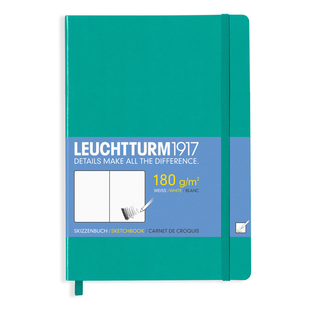 Leuchtturm Medium Sketchbook Emerald