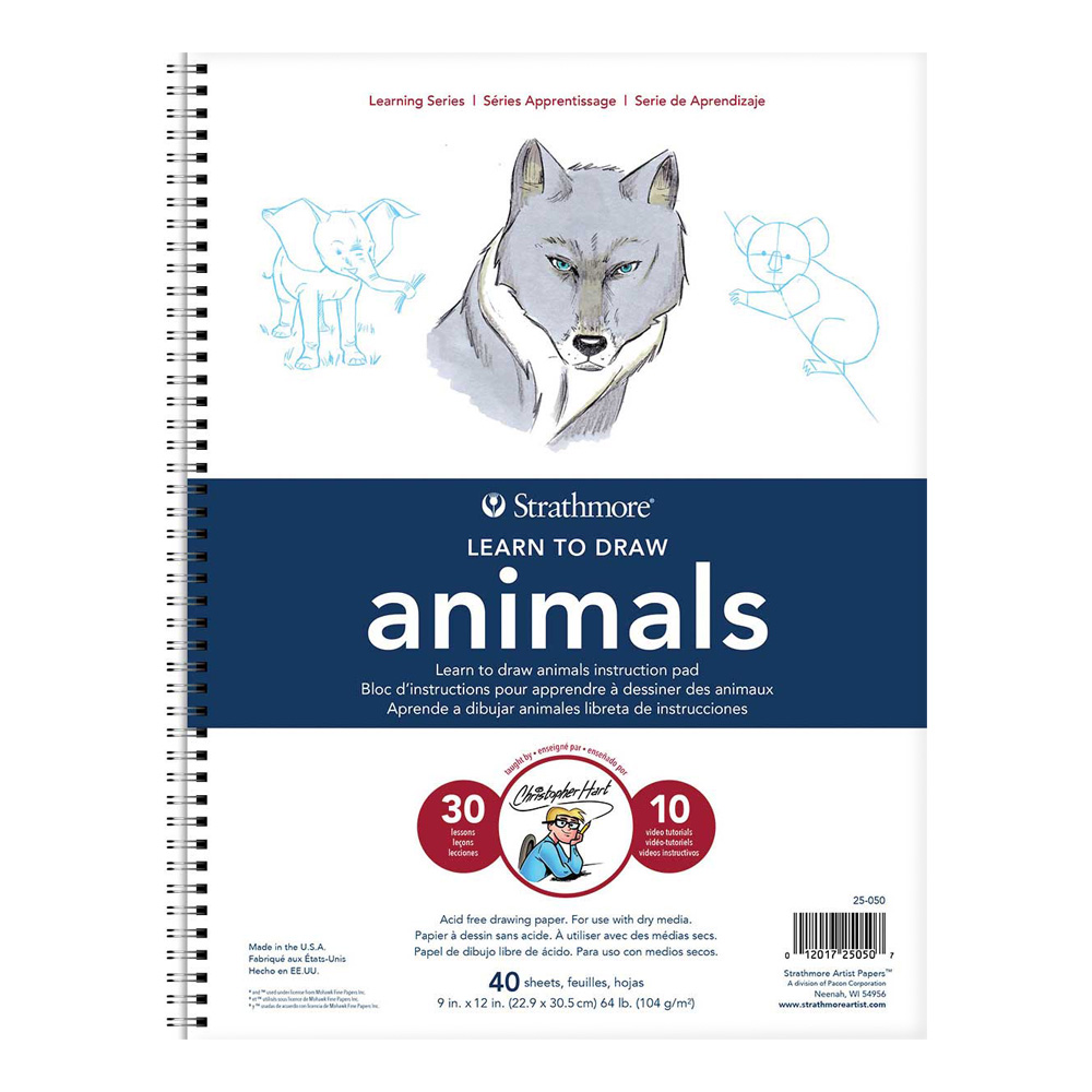 Strathmore Learn To Draw - Animals