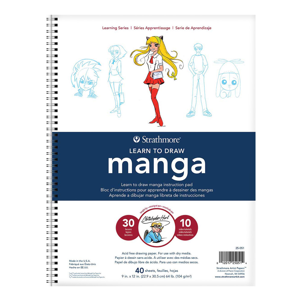 Strathmore Learn To Draw - Manga