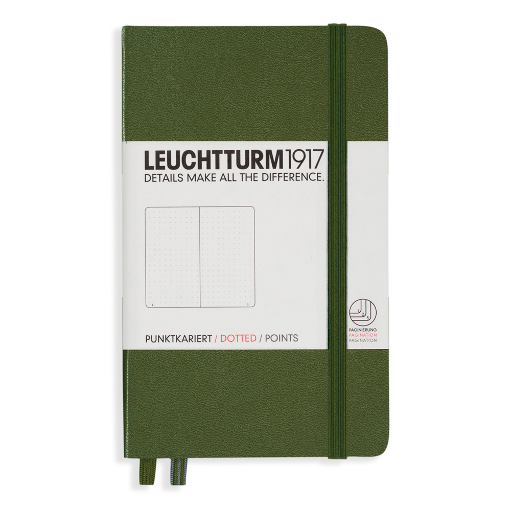Leuchtturm Pocket Hardcover Dots Army