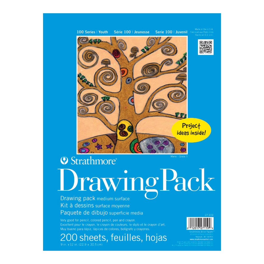 Strathmore Kids Drawing Paper 200/Pk 9X12