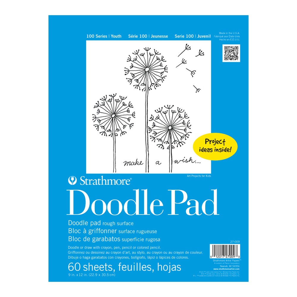 Strathmore 100 Youth Doodle Pad 9X12