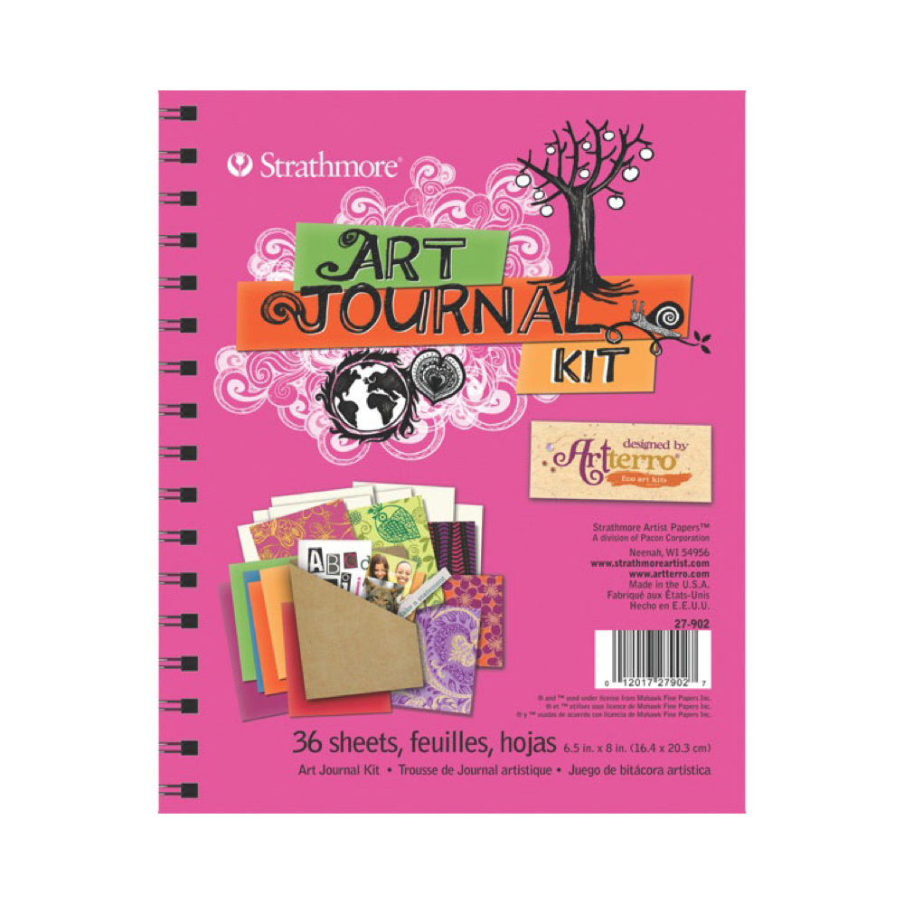 Strathmore Art Journal Kit: Hot Pink