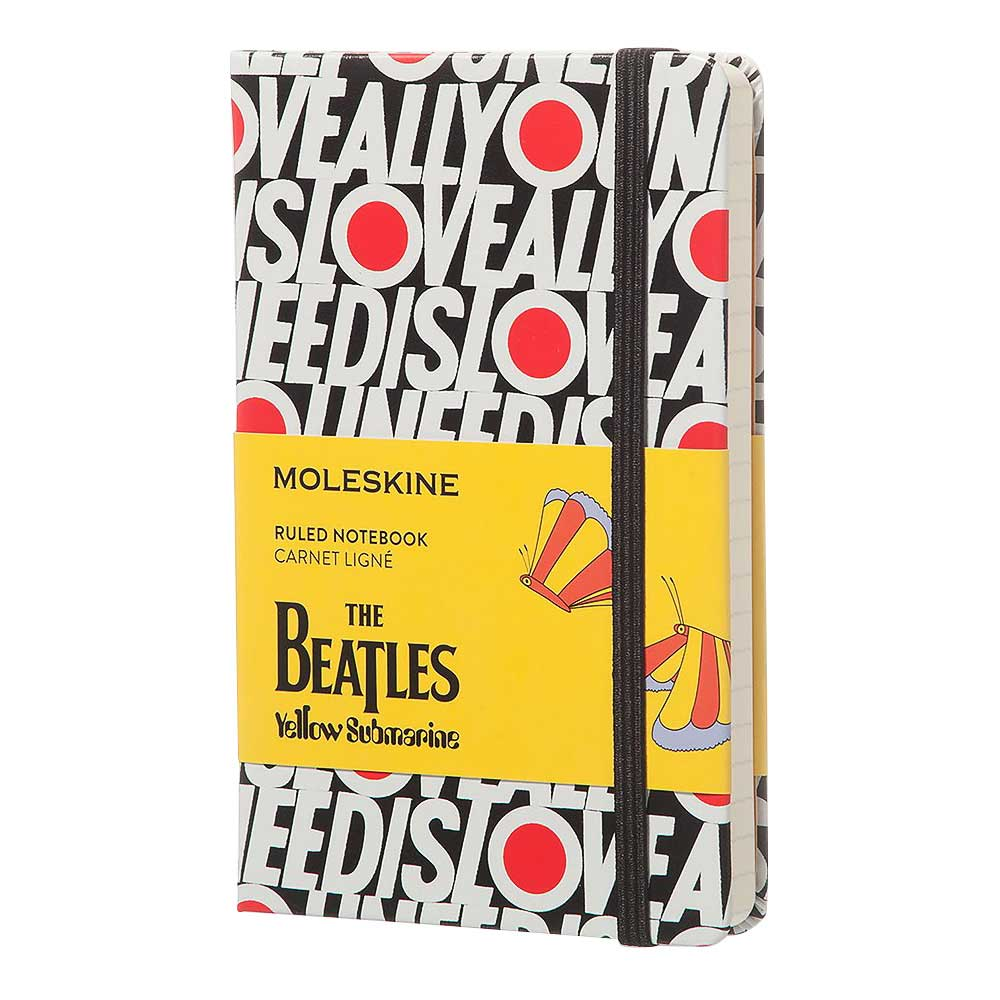 Moleskine Pckt Ruled Ntbk Beatles All you nee