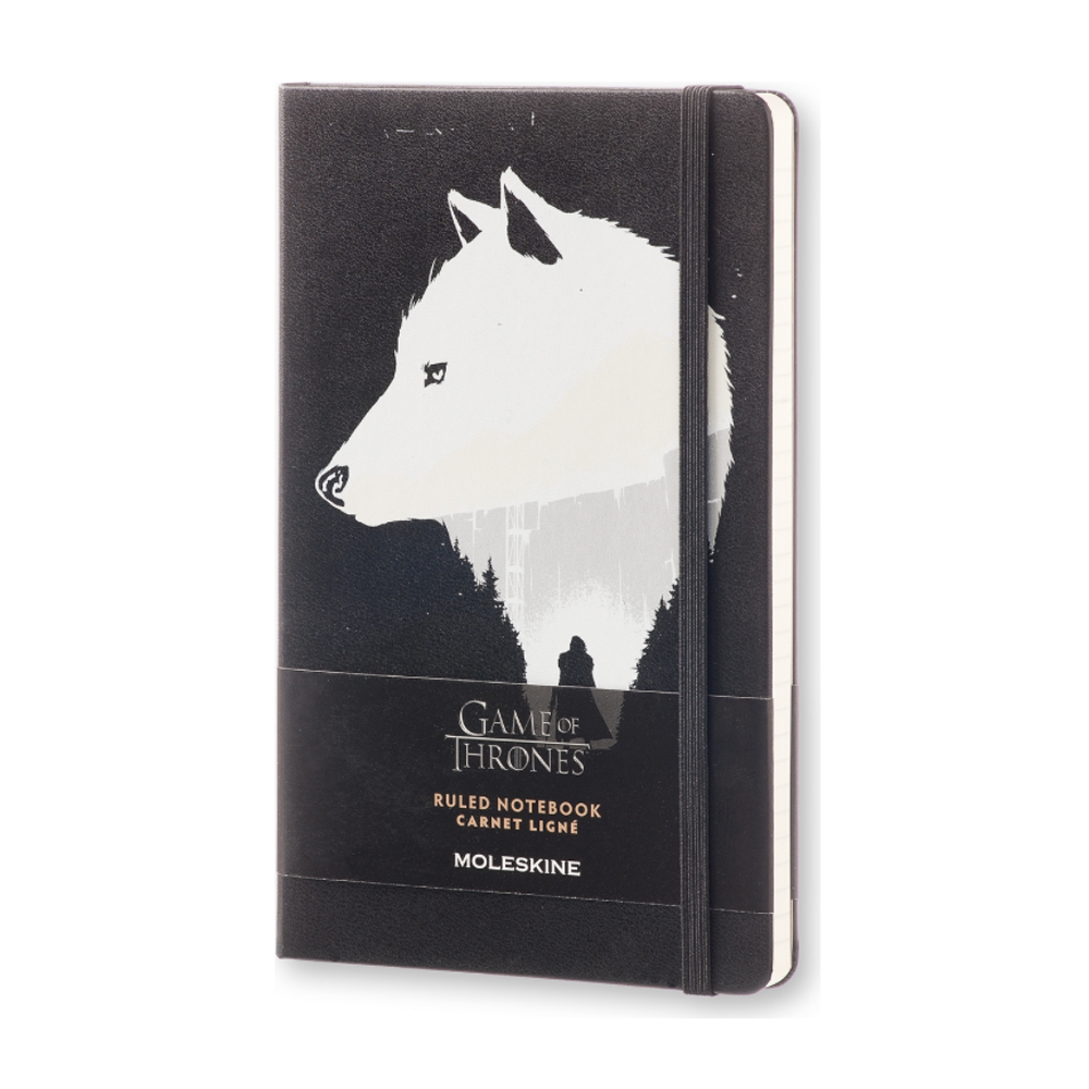 Moleskine Large Ruled Ntbk Game Of Thrones
