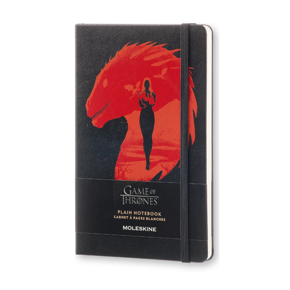 Moleskine Large Plain Ntbk Game Of Thrones