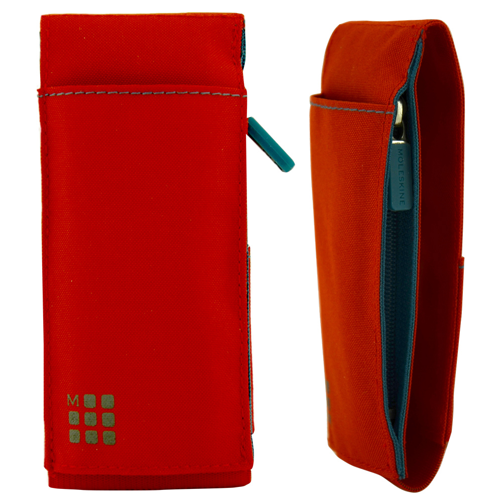 Moleskine Pocket Ntbk Tool Belt Scarlet Red