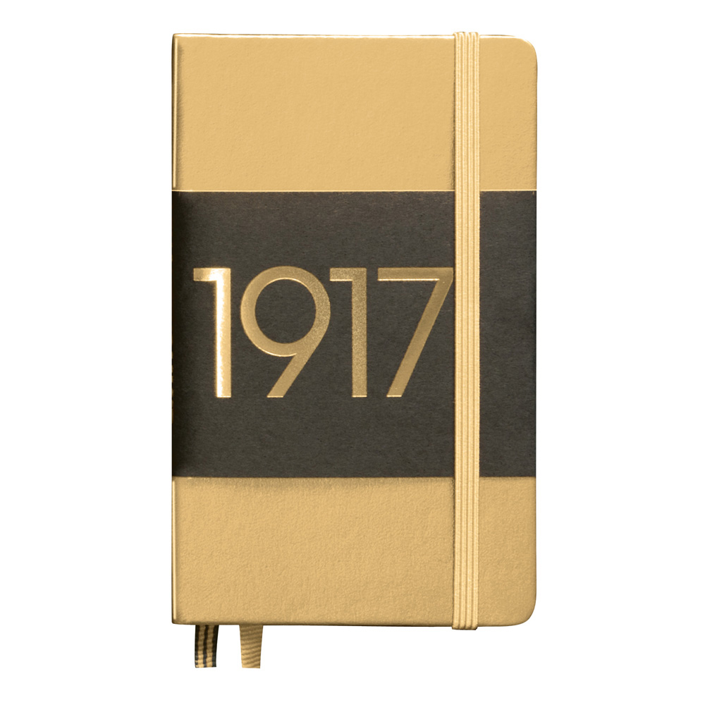 Leuchtturm Pocket Hardcover Dotted Gold