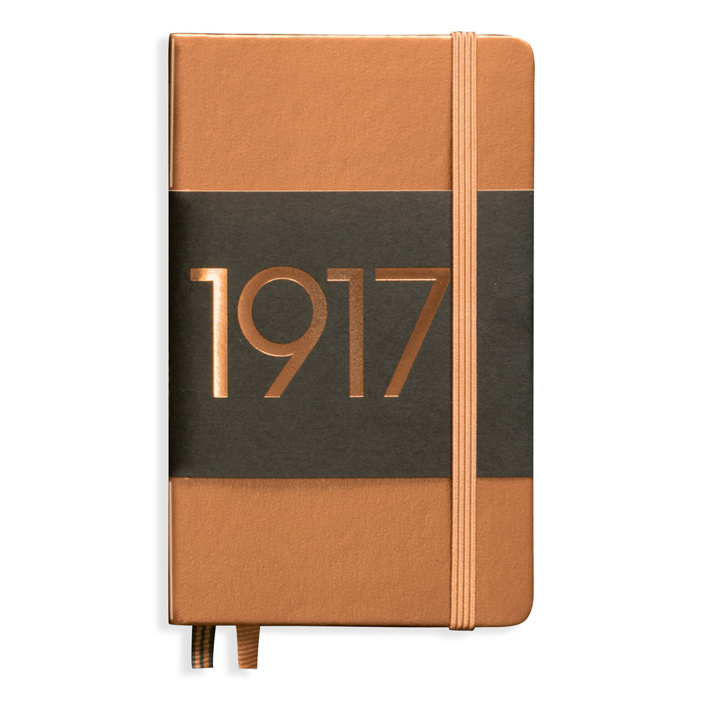Leuchtturm Pocket Hardcover Ruled Copper