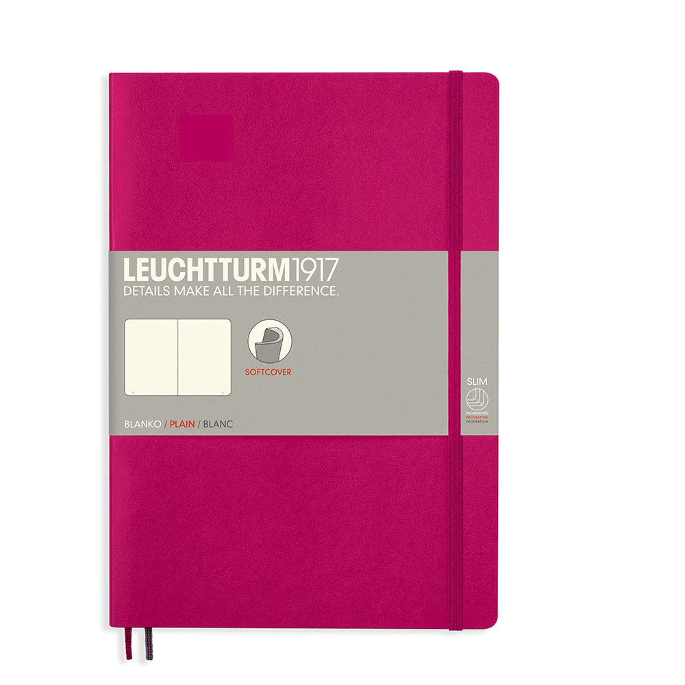 Leuchtturm Soft B5 Notebook Blank Berry