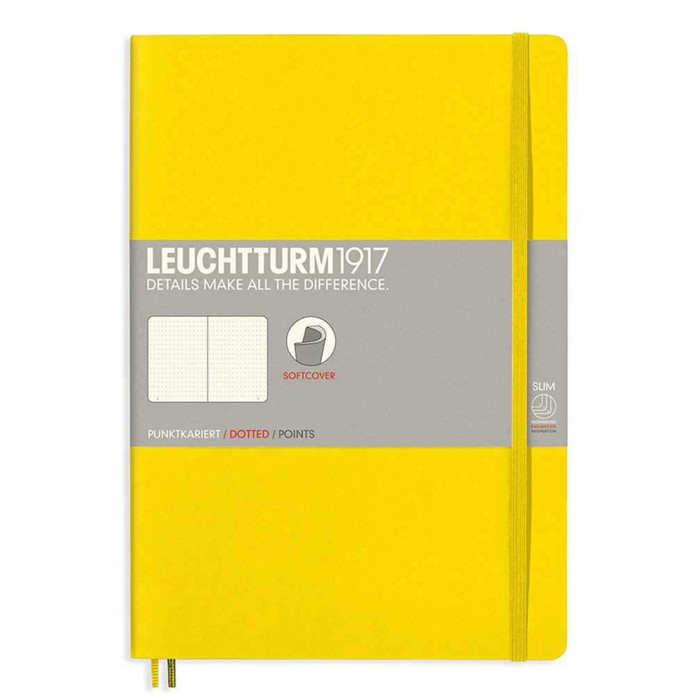 Leuchtturm Soft B5 Notebook Dots Lemon