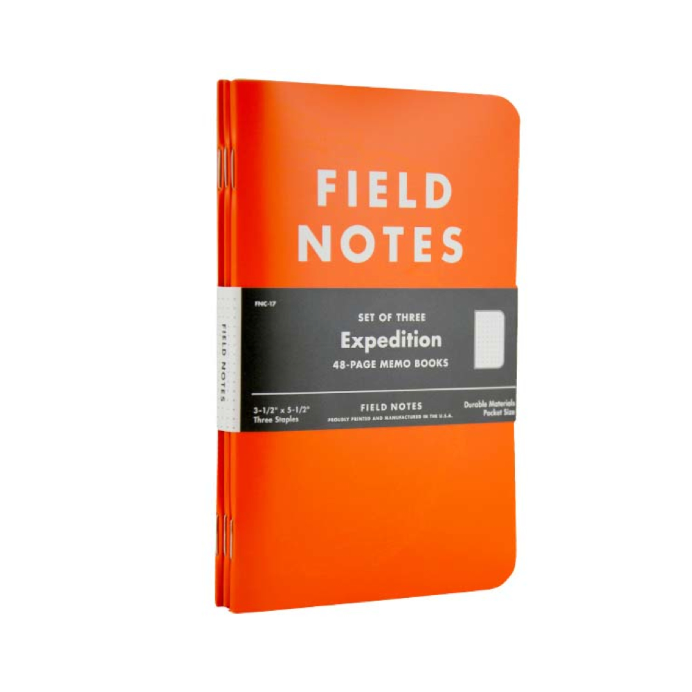 Field Notes Notebooks and Journals