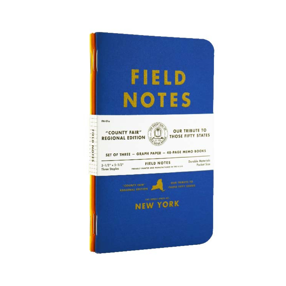 Field Notes County Fair New York 3Pk