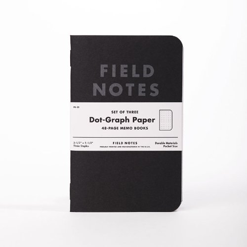 Field Notes Pitch Black 3-Pack