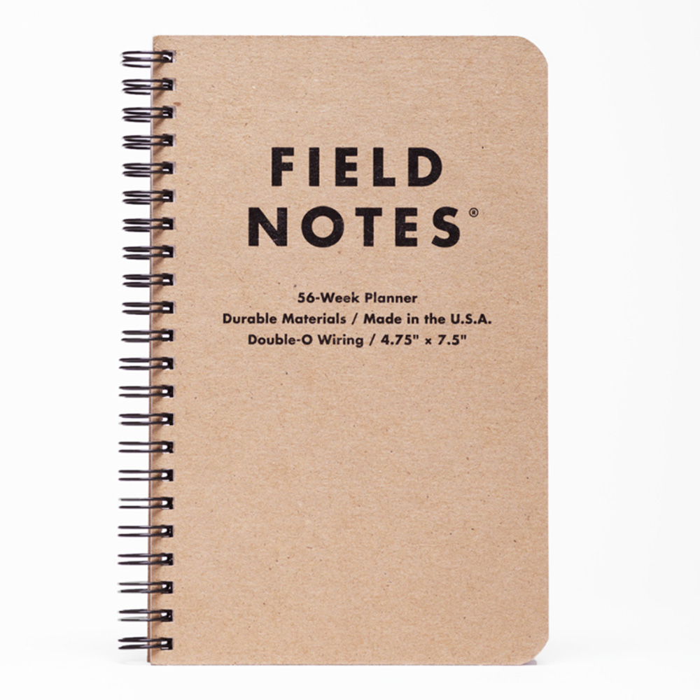 Field Notes 56 Week Planner