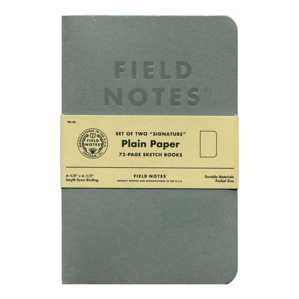 Field Notes Signature Sketchbooks