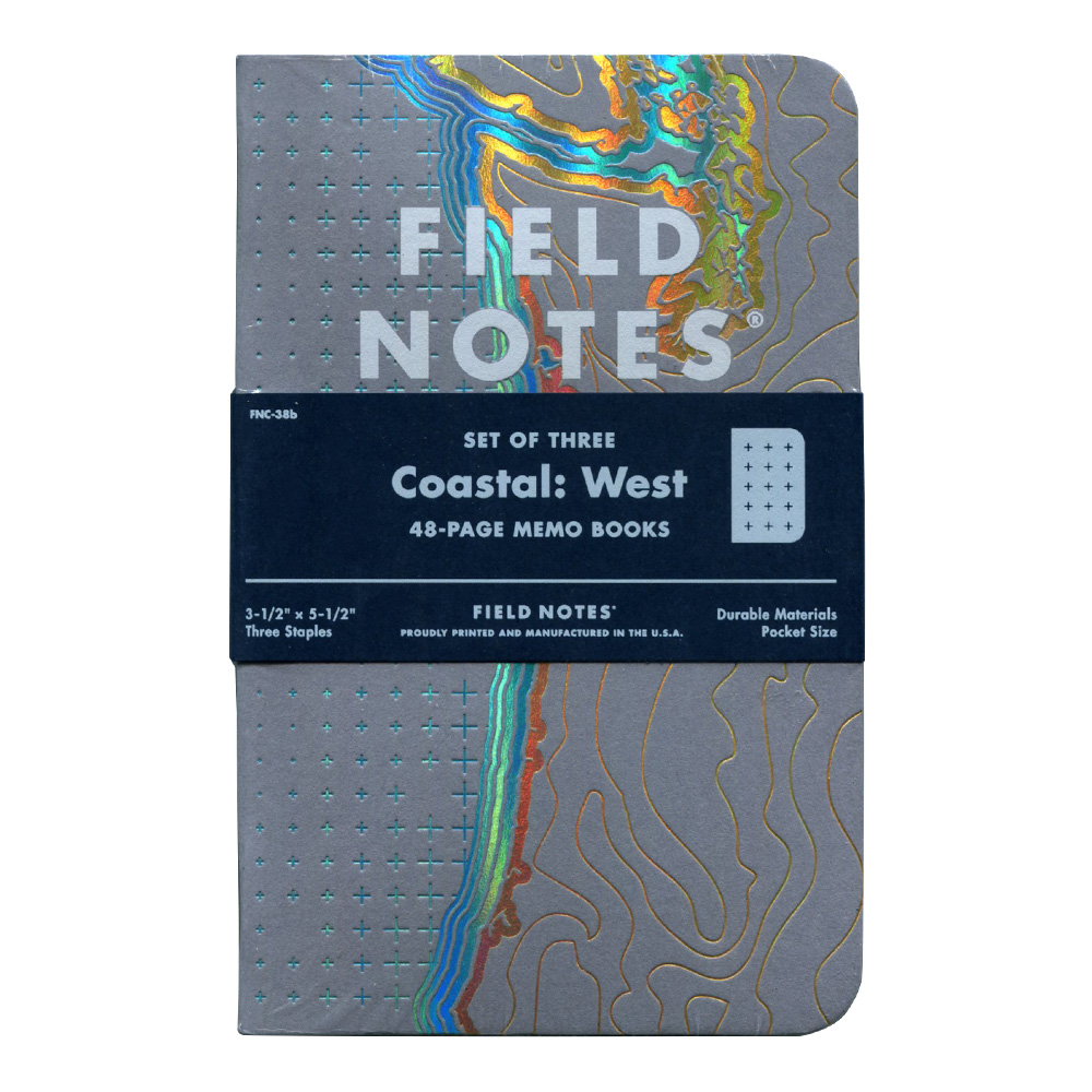 Field Notes Coastal West Edition