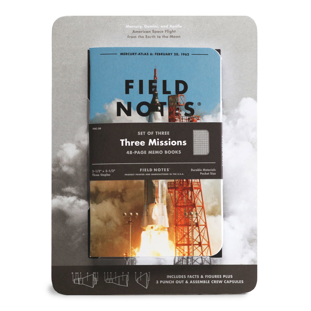 Field Notes Three Missions Memo Books Capsule