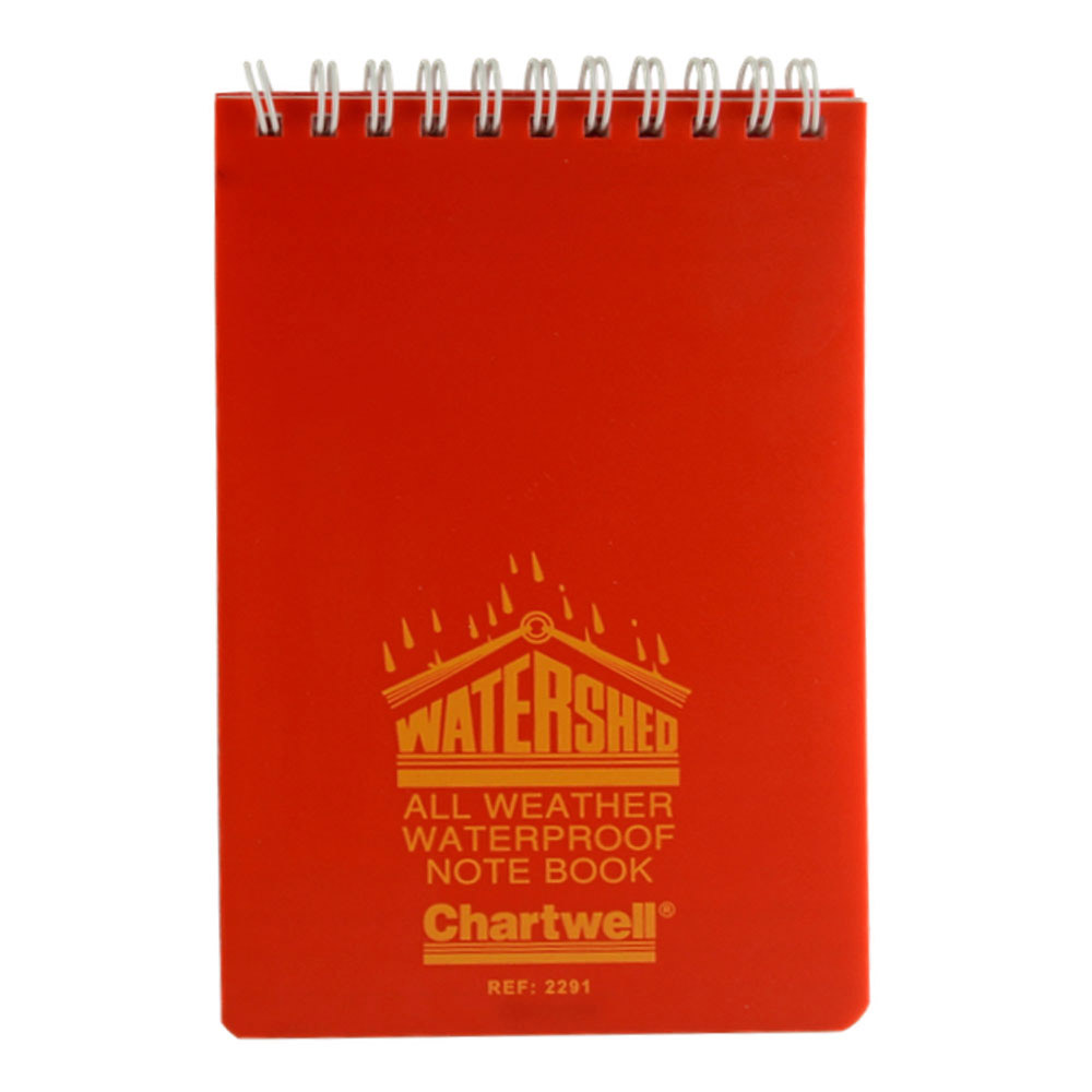 Watershed All Weather Notebook 4X6 Lined