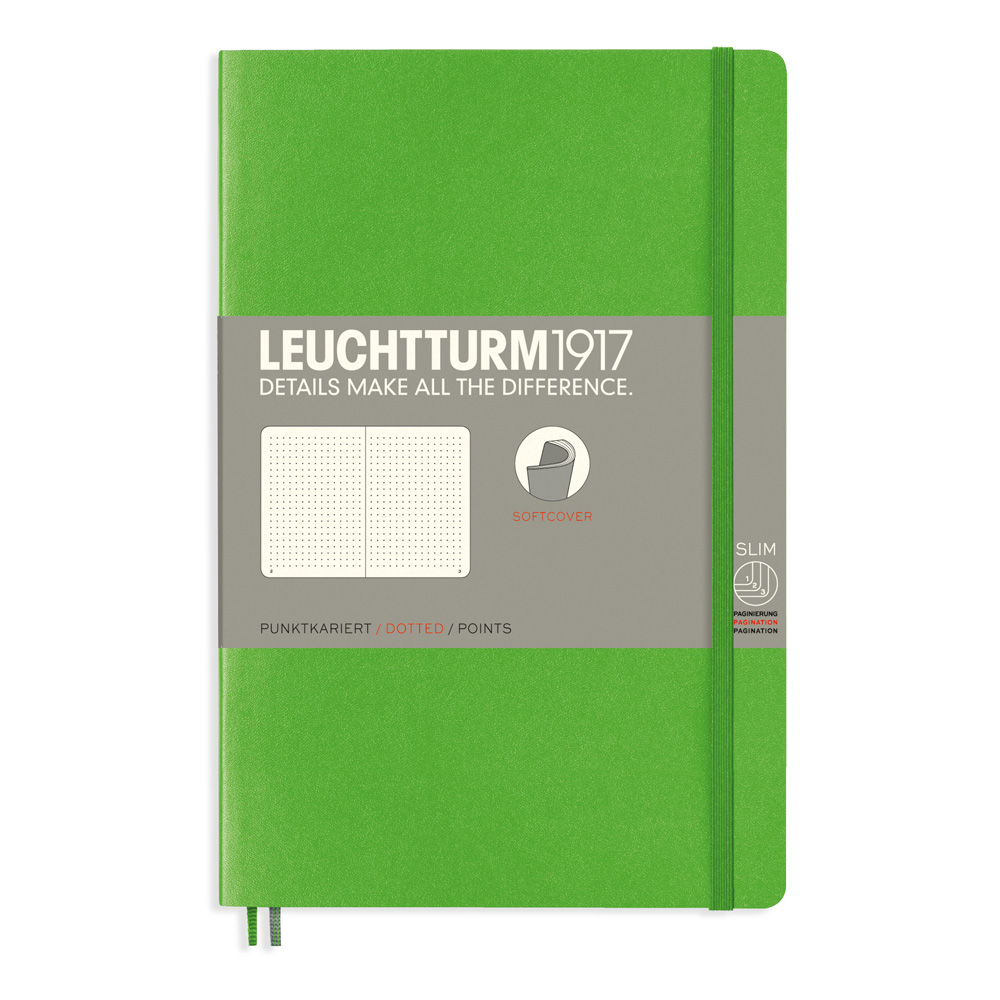 Leuchtturm Soft B6 Notebook Dots Fresh Green