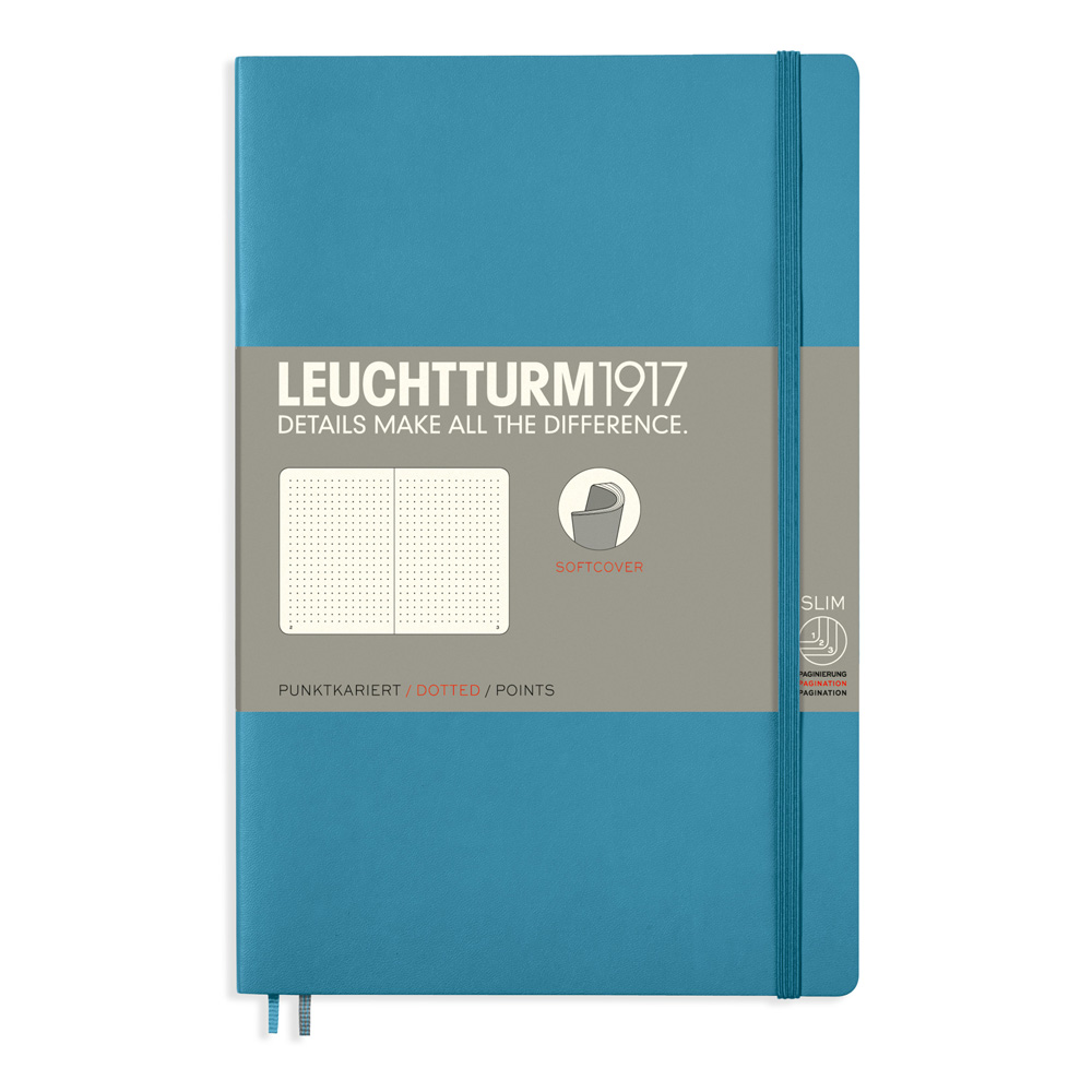Leuchtturm Soft B6 Notebook Dots Nordic Blue