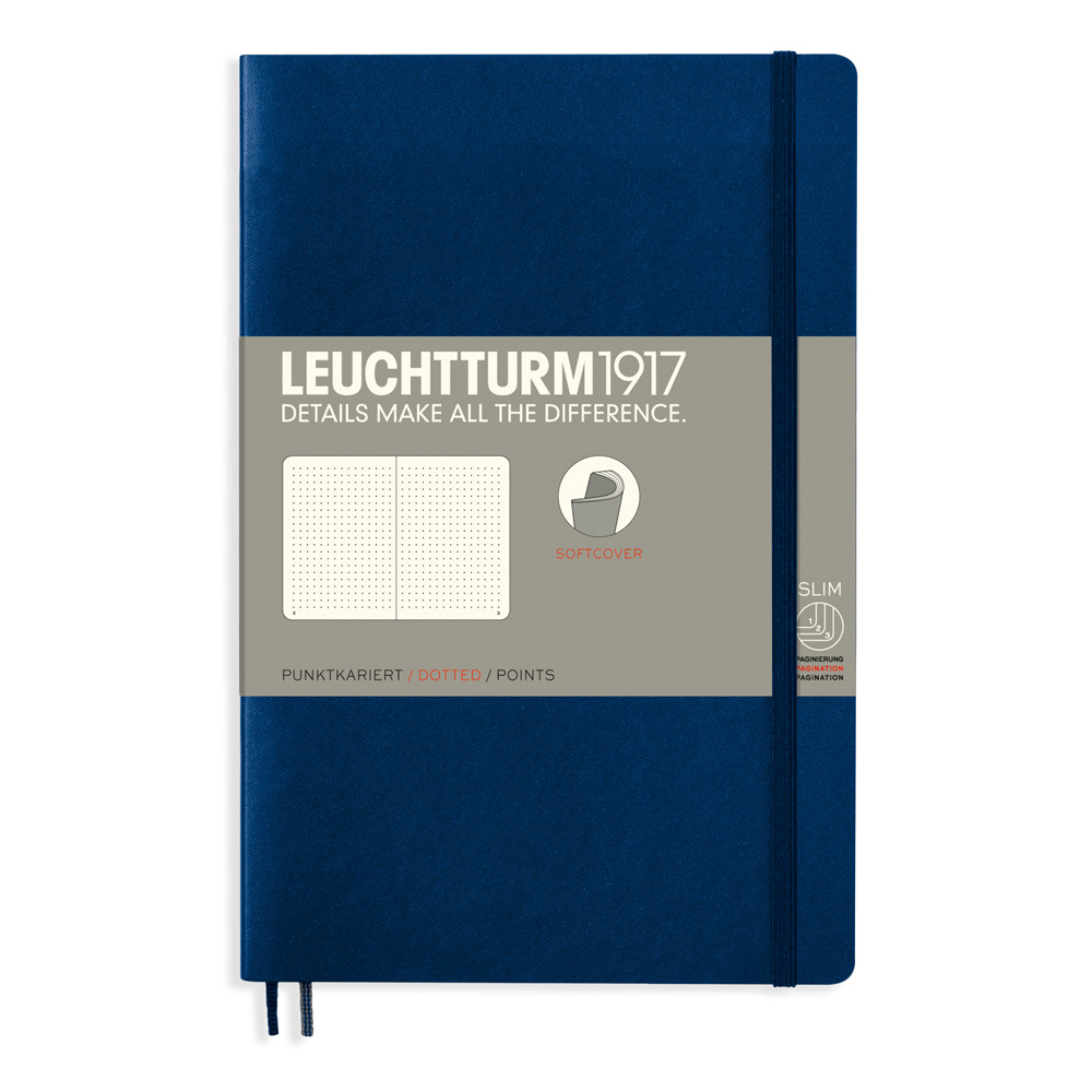 Leuchtturm Soft B6 Notebook Dots Navy