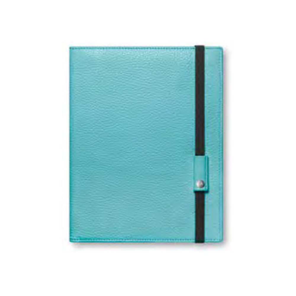 Caran D'ache Leman Leather Book A5 Turquoise