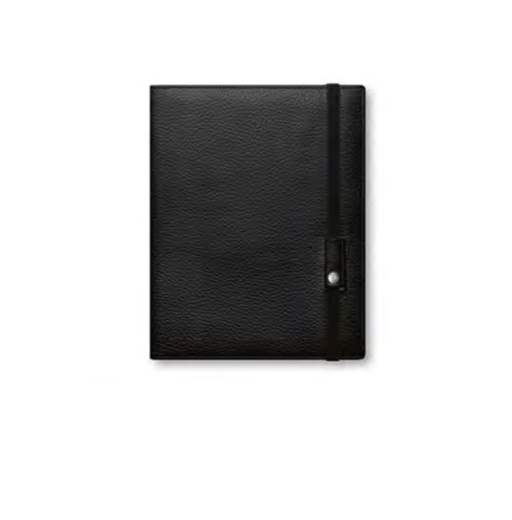 Caran D'ache Leman Leather Book A5 Black