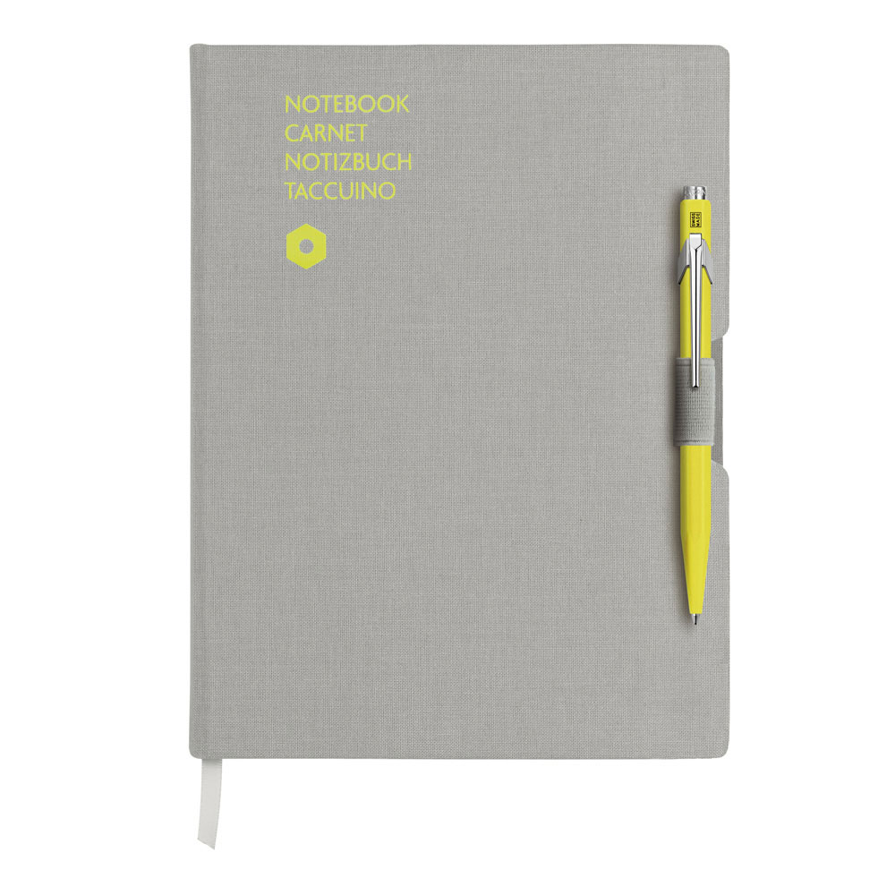 Caran d'Ache 849 BP Ylw/Notebk Office A5 Grey