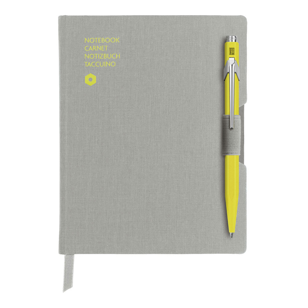 Caran d'Ache 849 BP Ylw/Notebk Office A6 Grey