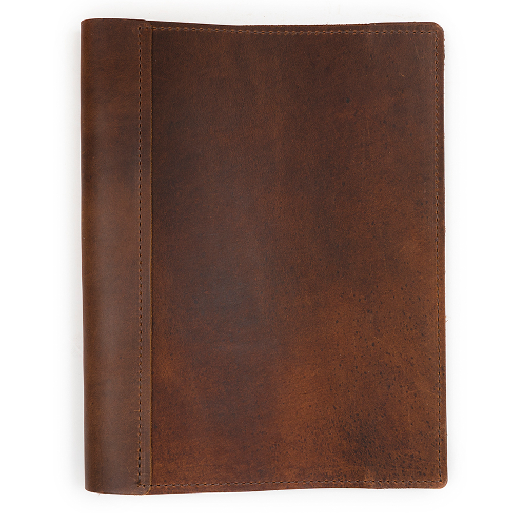 Rustico Refillable Sketchbook Large Saddle