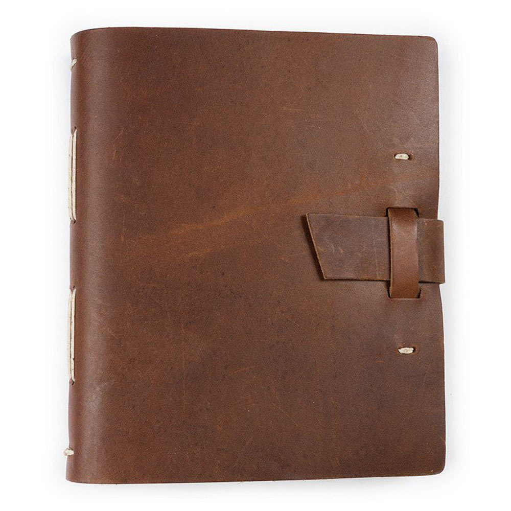 Rustico Traveler Journal w/Buckle Saddle