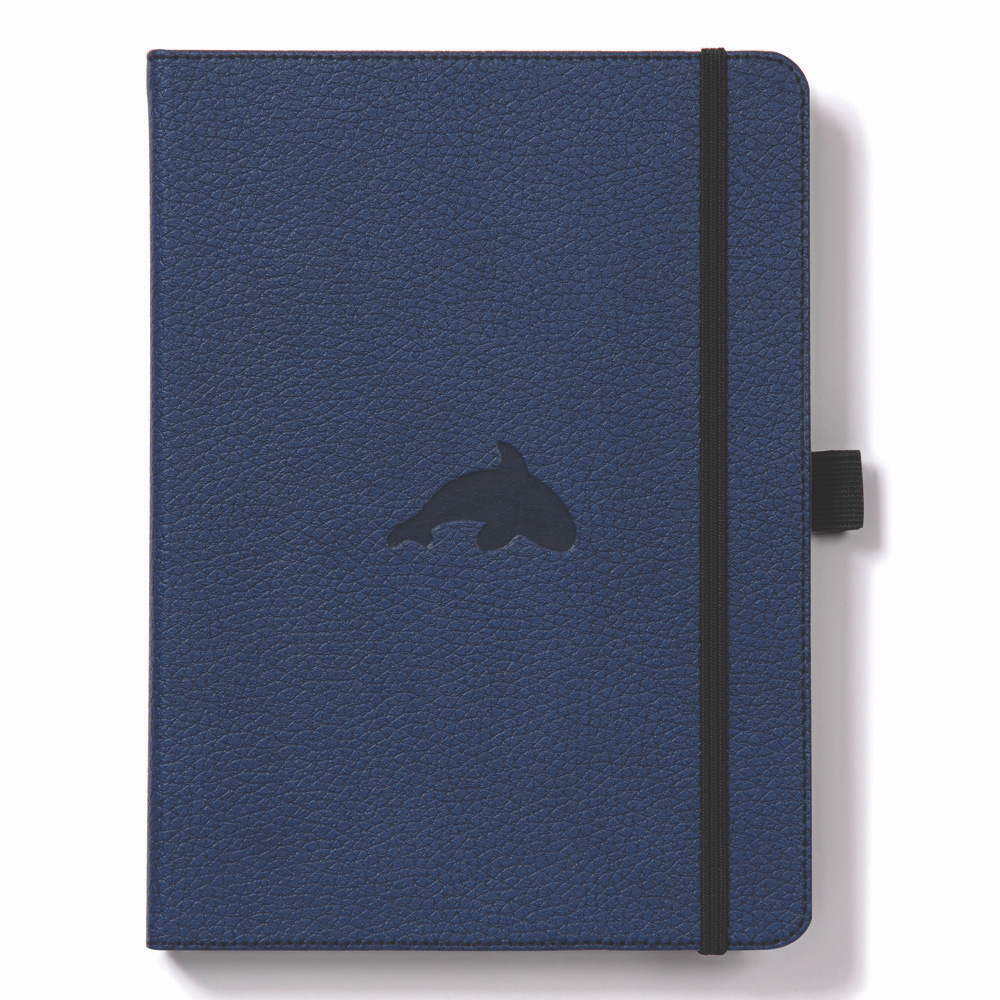 Dingbats A4 Blue Whale Notebook Lined