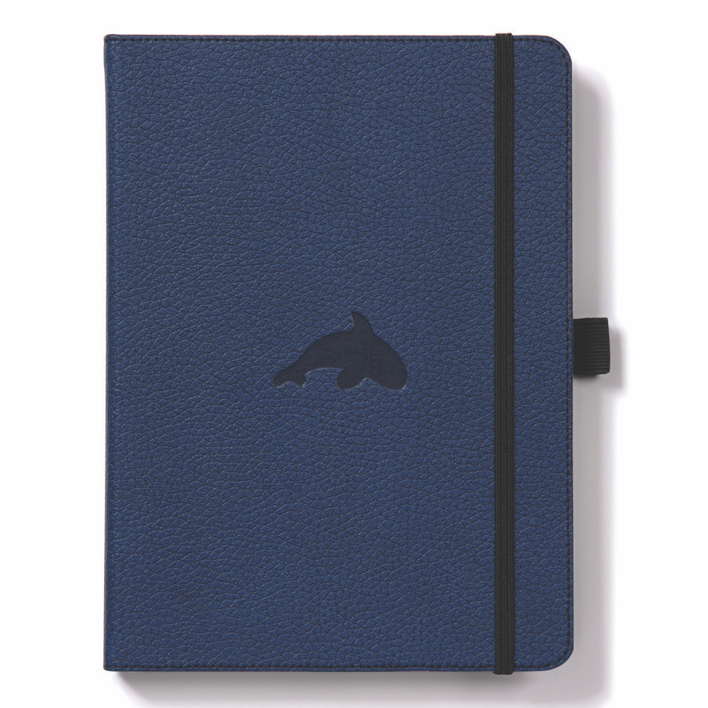Dingbats A4 Blue Whale Notebook Graph