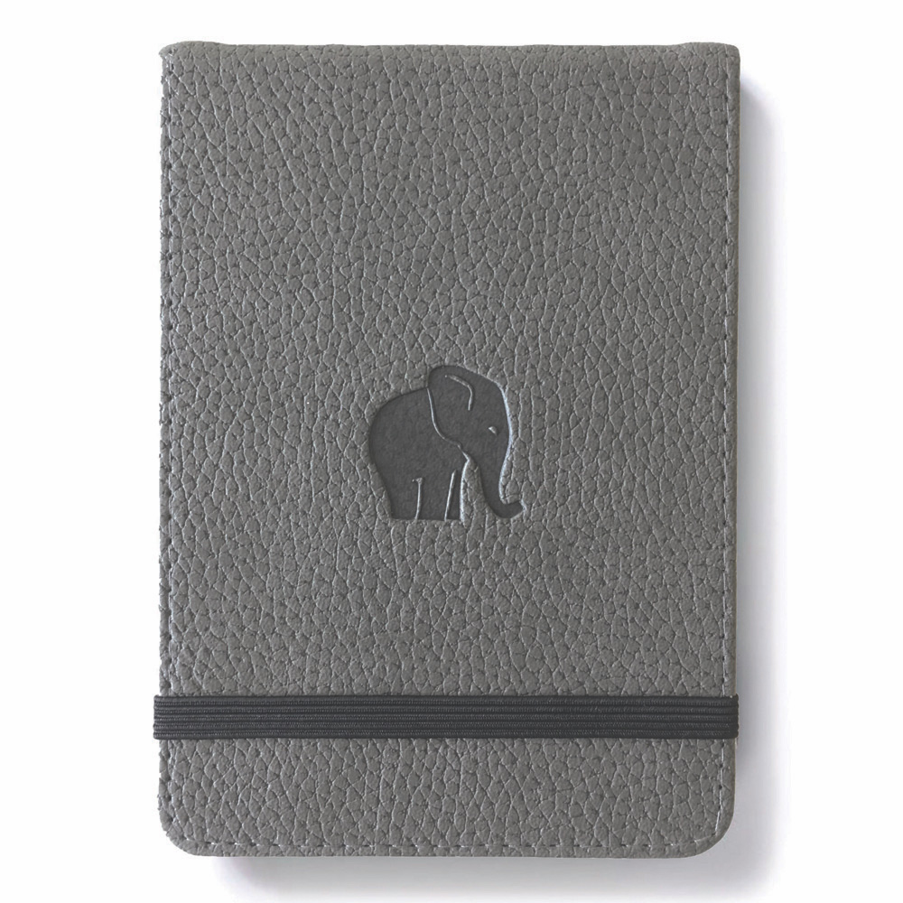 Dingbats Grey Elephant Reporter Notebk Lined