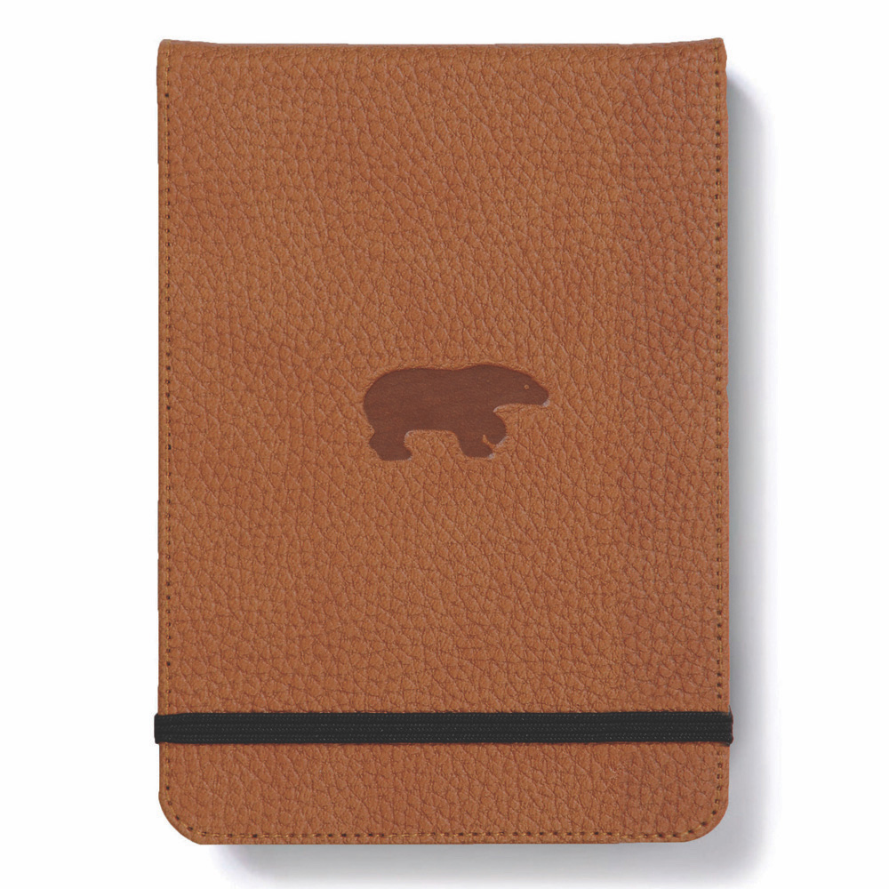 Dingbats Brown Bear Reporter Notebook Lined