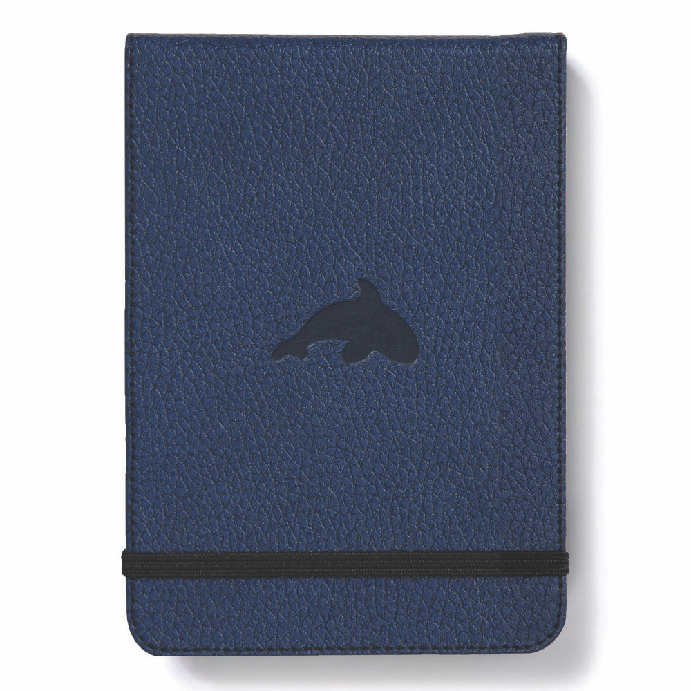 Dingbats Blue Whale Reporter Notebook Plain