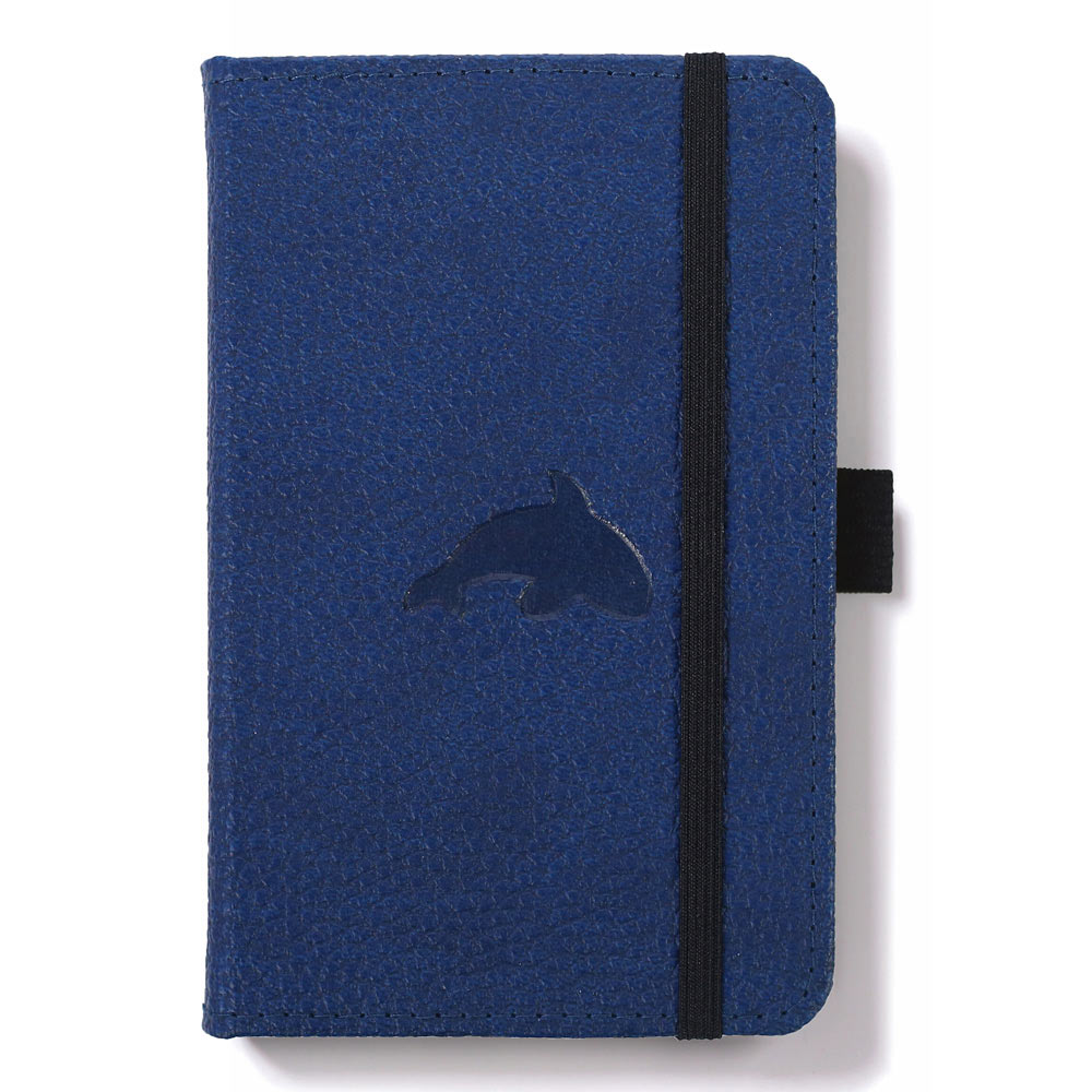 Dingbats A6 Blue Whale Notebook Dotted