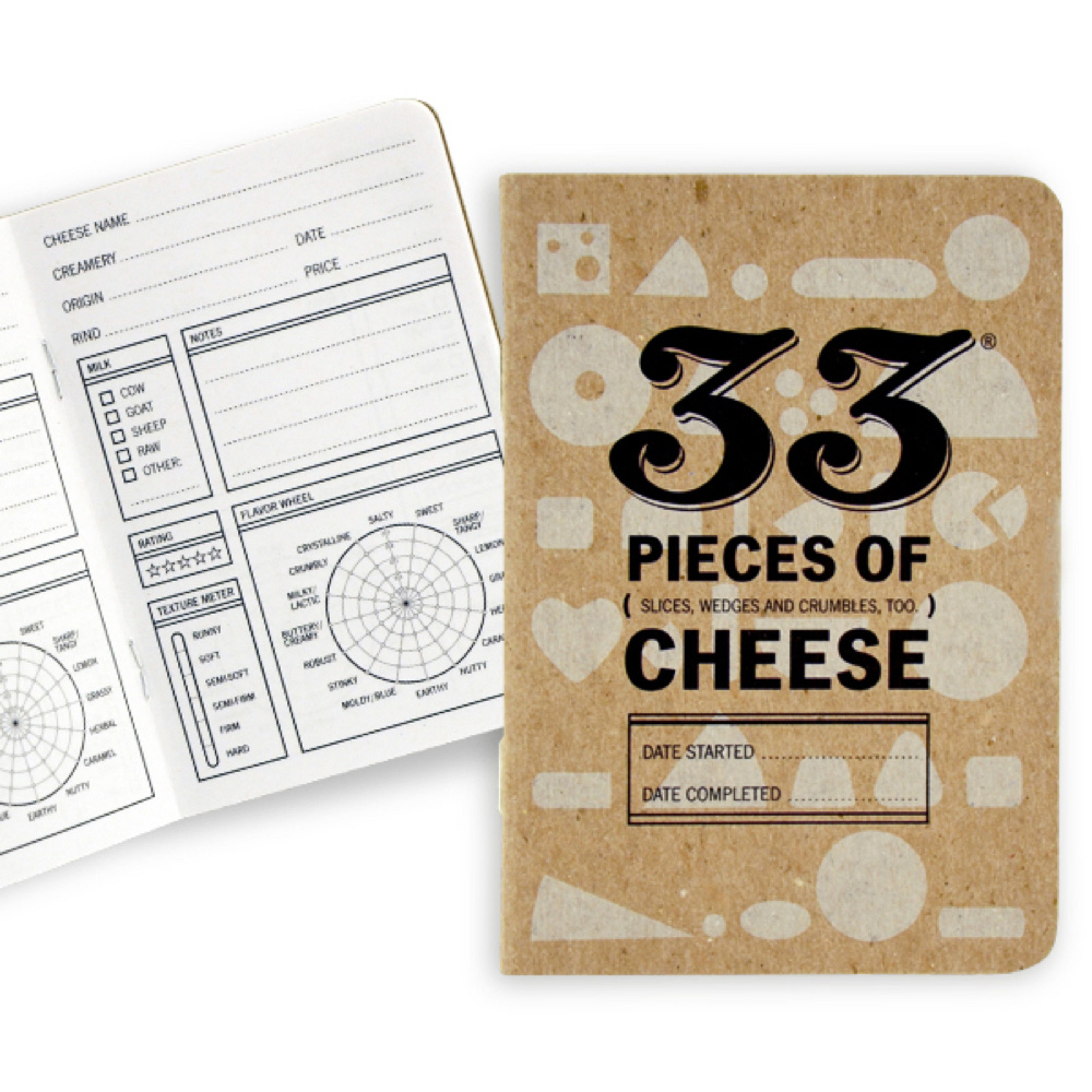 33 Books Co.: 33 Pieces Of Cheese