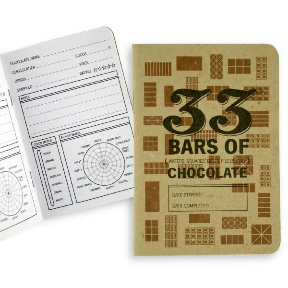 33 Books Co.: 33 Bars Of Chocolate