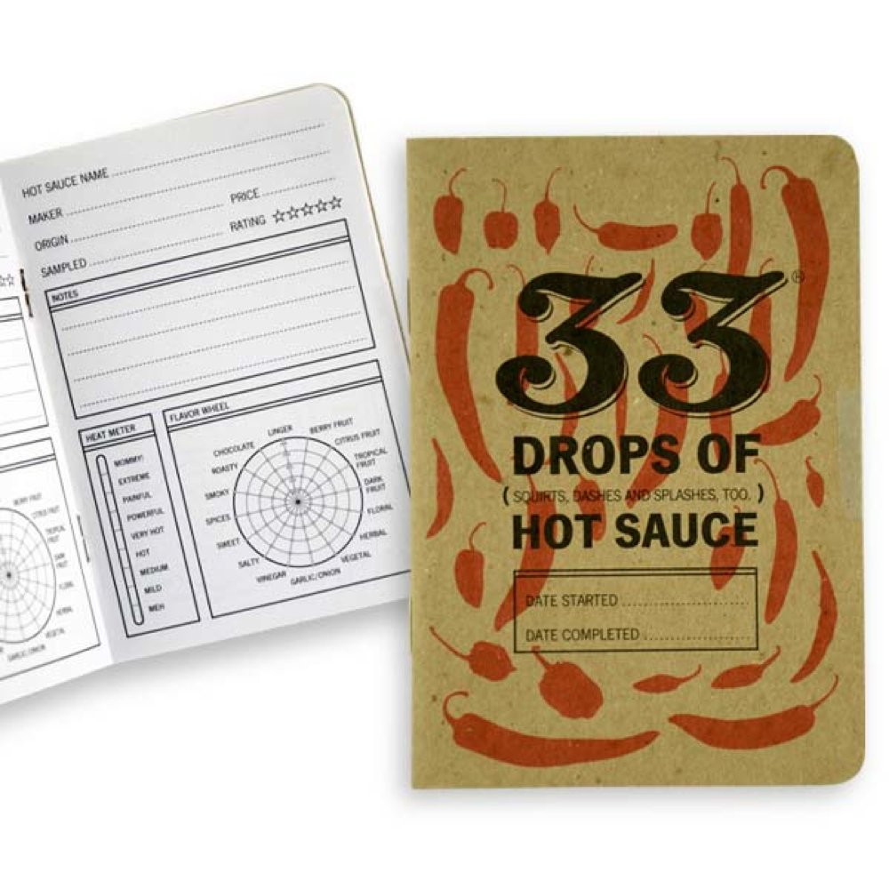 33 Books Co.: 33 Drops Of Hot Sauce