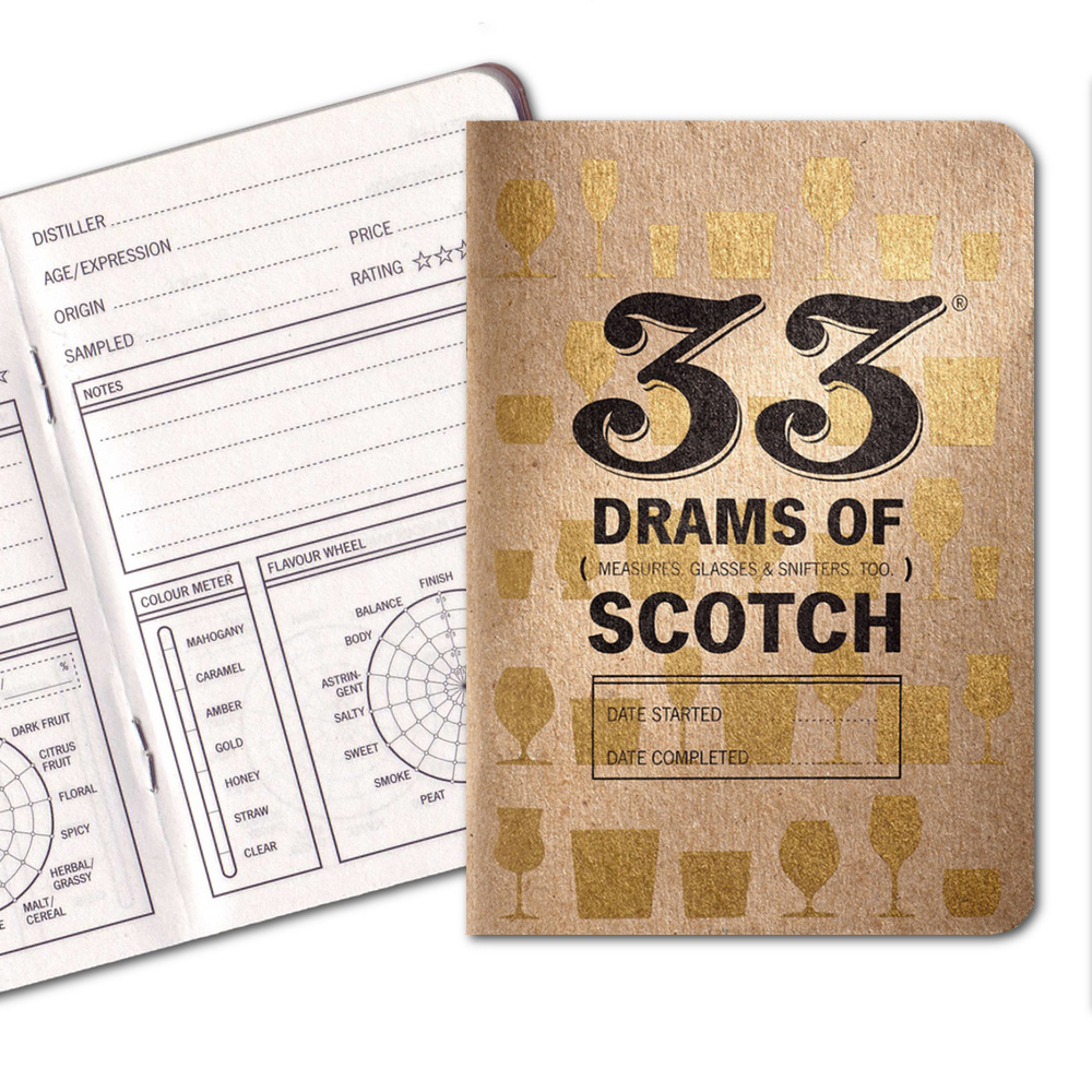 33 Books Co.: 33 Drams Of Scotch