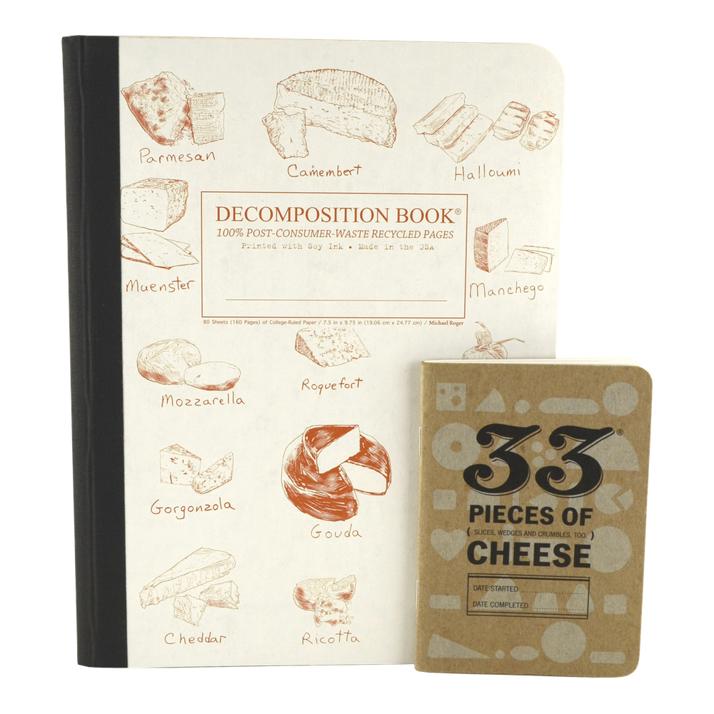 Cheese Lover Journal Set