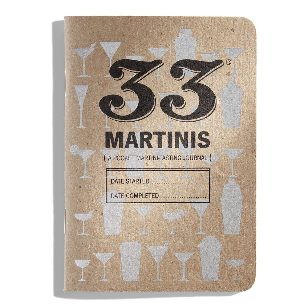 33 Books Co.: 33 Martinis