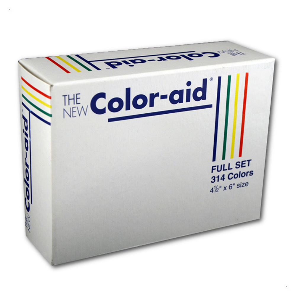 Coloraid Full Set 314 Colors 4.5 X 6