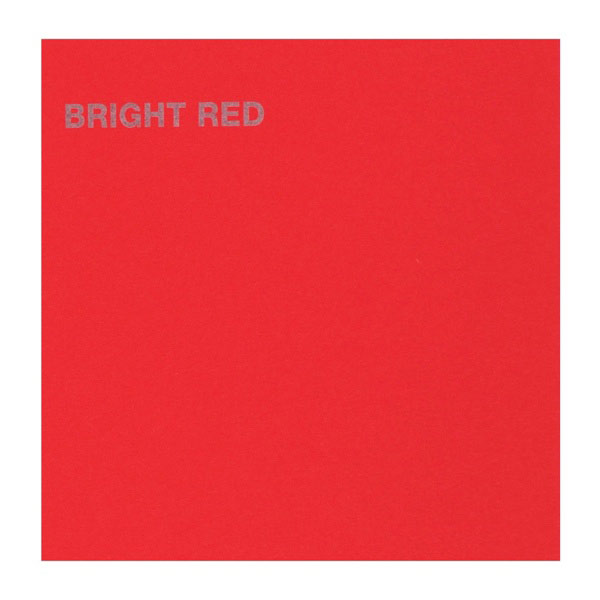 Canford Card 20.5X30.5 Bright Red 5/Pk